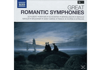VARIOUS - Grosse Romantische Symphonien - (CD)