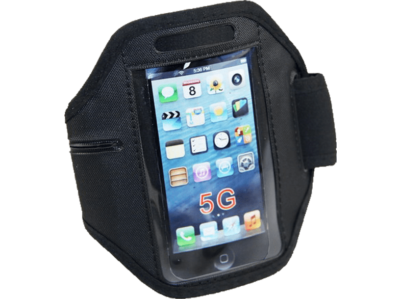 AGM  24602 Armtasche Apple iPhone 5 Nylon Schwarz | 04026436246023