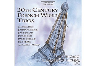 Chicago Chamber Musicians - 20th Century French Wind Trios - (CD)