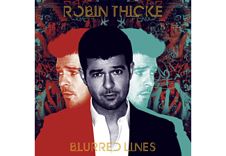 Robin Thicke BLURRED LINES Pop CD