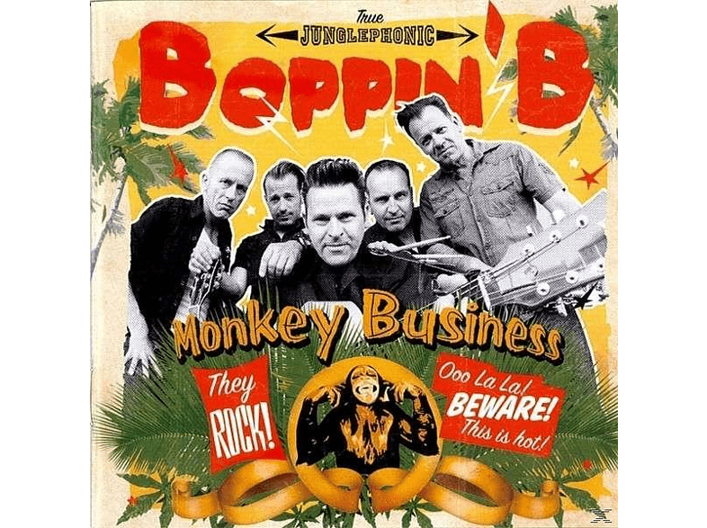 Boppin'b - Monkey Business [CD]