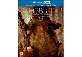 The Hobbit: P1 - An Unexpected Journey 3D + 2D Blu-ray