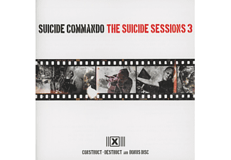 Suicide Commando - THE SUICIDE SESSIONS 3 - (CD)