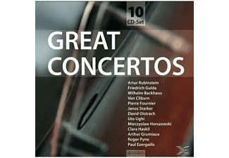 Anton Grigorjevich Rubinstein;Gulda;Backhaus;Various - Great Concertos-Wallet Box (Various) - (CD)
