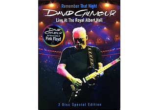 David Gilmour - Remember That Night - Live At The Royal Albert Hall 2006 (DVD)