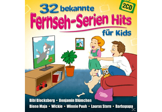 die partykids 32 bekannte fernseh serien hits f r kids cd mediamarkt. Black Bedroom Furniture Sets. Home Design Ideas