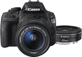 CANON EOS 100D + 40/2,8 + 18-55/3,5-5,6 IS STM