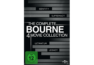 Bourne Collection 1-4 - (DVD)