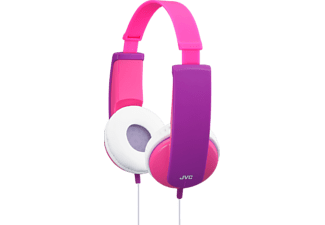 JVC HA-KD5-P - Cuffie per bambini  (On-ear, Rosa)