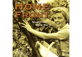 COTTON/FLANAGAN & ALLEN/MILLER - Home Front-Songs From World War II - (CD)