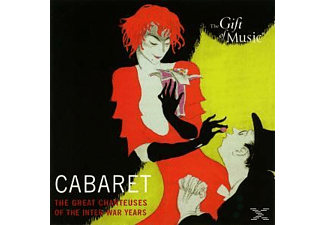 Dietrich,Marlene/Piaf,Edith/Keller,Greta/Baker,J. - Cabaret-The Great Chanteuses Of The Inter-War Year - (CD)