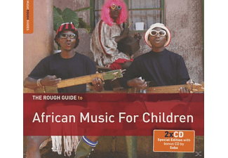 Saba, VARIOUS - The Rough Guide : African Music For Children - (CD + Bonus-CD)