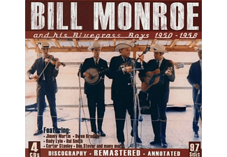 Bill Monroe & His Blue Grass Blues - And His Bluegrass Boys 1950-1958 - (CD)