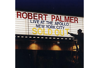 Robert Palmer - Live At The Apollo, New York City (CD)