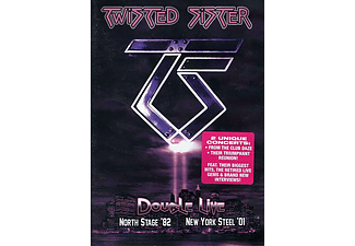 Twisted Sister - Double Live (DVD)