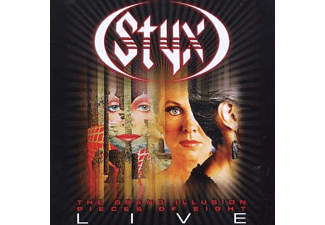 Styx - The Grand Illusion / Pieces Of Eight - Live 2010 (CD)