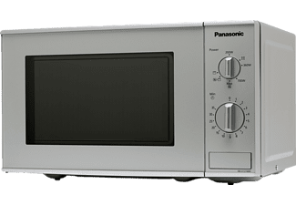 PANASONIC Mikrowelle mit Grillfunktion in Silber NN-K121M