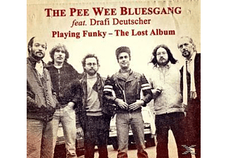 Pee Wee Bluesgang - Playing Funky-The Lost Album - (CD)