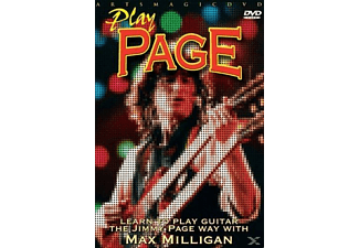 Play Page - Learn To Play Jimmy Page Way With Max Milligan - (DVD)
