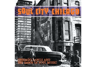 VARIOUS - Soul City Chicago - (CD)