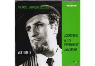 Acker Bilk, The Paramount Jazz Band - The Radio Luxenbourg Sessions Vol.9 - (CD)