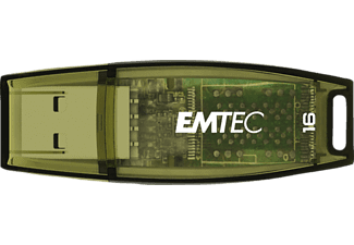 EMTEC ECMMD16GC410 C410 - USB-Stick  (16 GB, Grün)