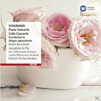 Daniel Barenboim, New Philarmonia Orchestra, The London Philharmonic Orchestra, Du Pre Jacqueline - Cellokonzert, Klavierkonzert [CD]