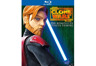 Star Wars: The Clone Wars - Die komplette 5. Staffel Animation/Zeichentrick Blu-ray
