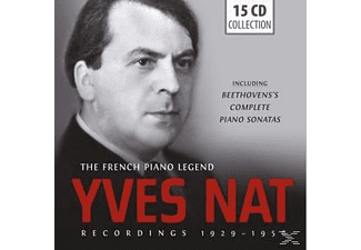 Nat Yves - Yves Nat-The French Piano Legend - (CD)