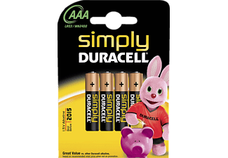 DURACELL Simply Power AAA