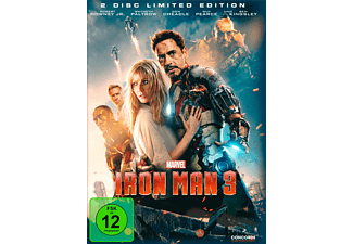 Iron Man 3 (Steelbook Edition) - (DVD)