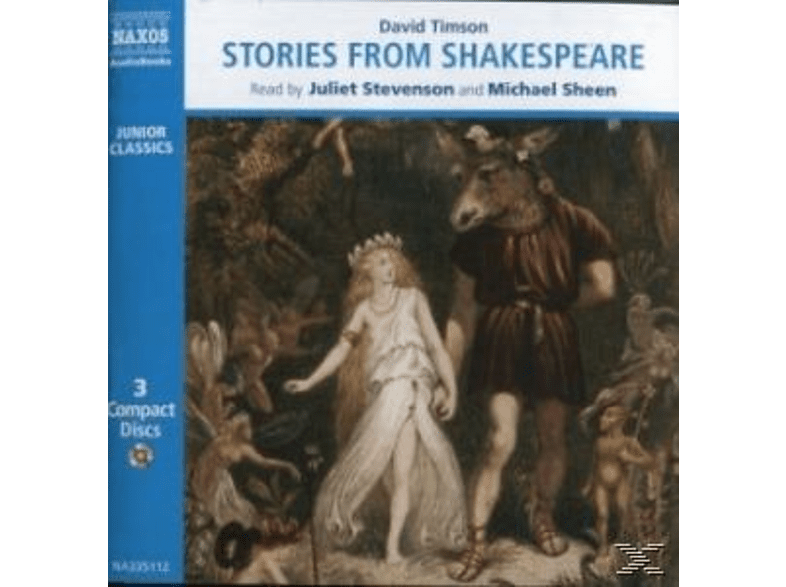STORIES FROM SHAKESPEARE - (CD)
