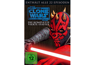Star Wars: The Clone Wars - Staffel 4 Animation/Zeichentrick DVD