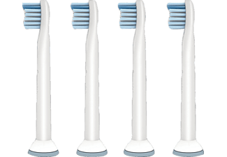 PHILIPS Sonicare ProResults Sensitiv 4er Mini-Bürstenkopf HX6084/07