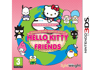 Around the world with Hello Kitty and Friends.  3DS