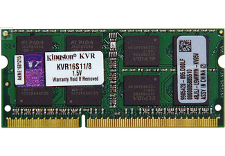 KINGSTON ValueRAM KVR16S11 8GB Geheugenmodule
