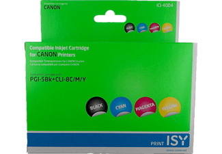 ISY ICI-4004 MULTIPACK 4 CANON PGI-5 4 couleurs