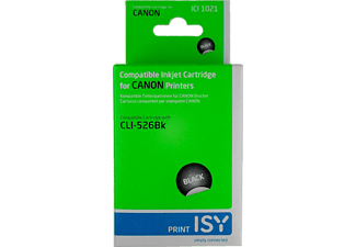 ISY ICI-1021 CANON CLI-526 Photo Zwart