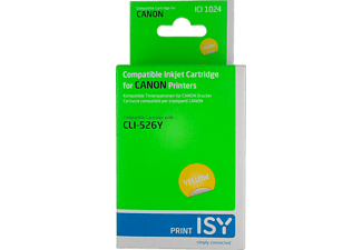 ISY ICI-1024 CANON CLI-526 Geel