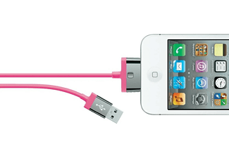 BELKIN 30-pin/USB kabel Roze