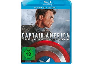 Captain America - The First Avenger (3D/2D) - (3D Blu-ray)