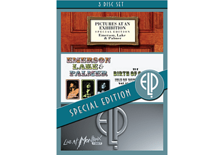 Emerson, Lake and Palmer - Pictures At An Exhibition - Special Edition (DVD)