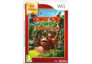 Donkey Kong Country Returns - Selects  Wii
