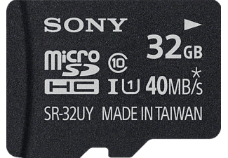 SONY High-Speed microSD, 32 GB Speicherkarte