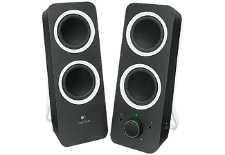 Altavoces PC- Logitech Z200 Multimedia Speakers, 2.0, 10W, color negro