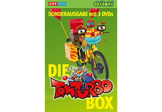 Tom Turbo: Folge 1-3 Box Kinder DVD
