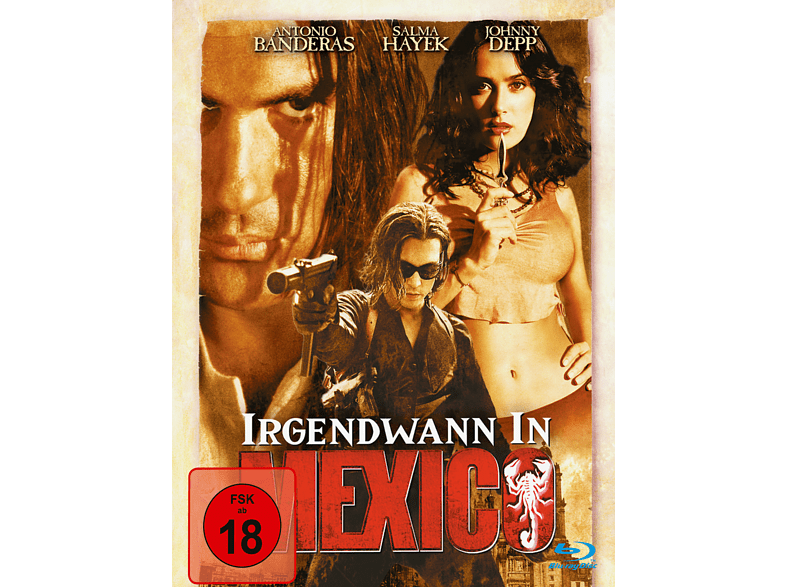 Irgendwann in Mexico (Steelbook Edition) [Blu-ray]