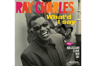 Ray Charles - What'd I Say / Hallelujah I Love Her - (CD)