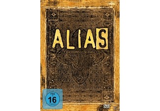 Alias Komplettbox - Staffel 1-5 (Schuberversion) - (DVD)