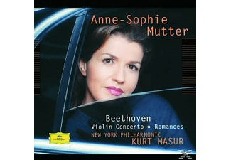 Anne-Sophie Mutter, Anne-sophie/masur/nypo Mutter - Violinkonzert op.61/Violinromanzen 1, 2 - (CD)